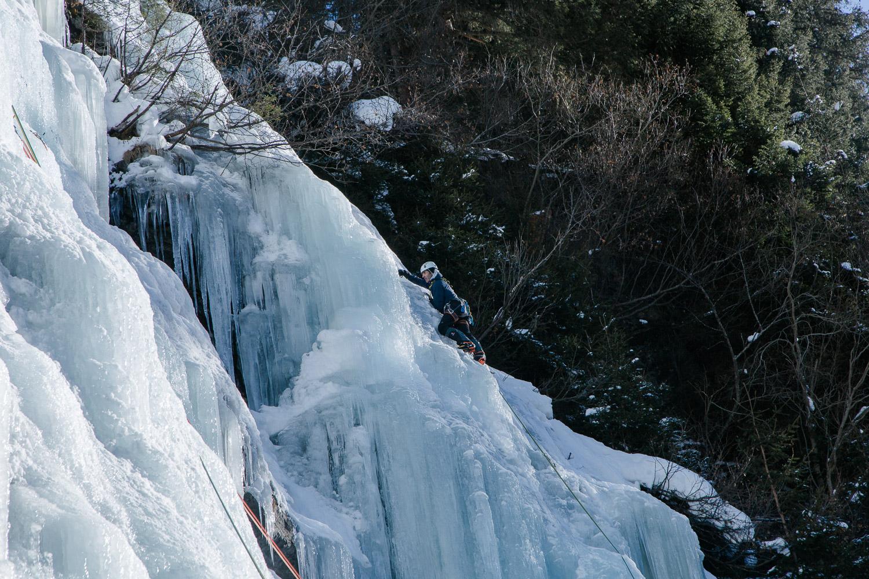 Eisklettern in Österreich