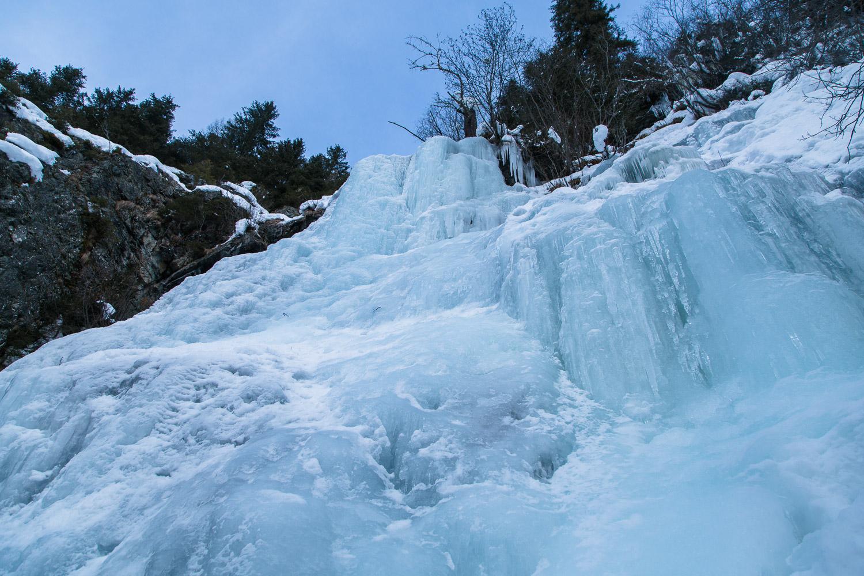 Eisfall Luibisbodenfall