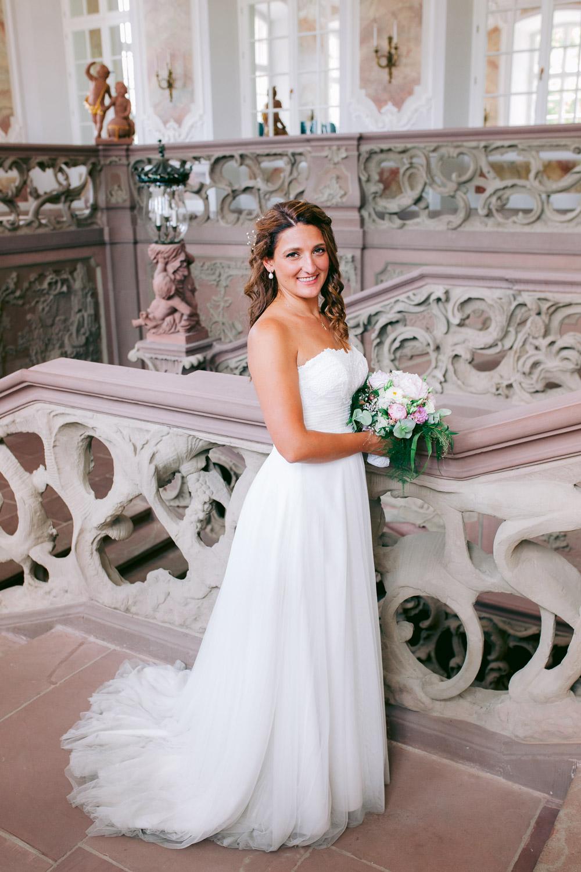Braut-Portrait bei einer Hochzeit in Trier