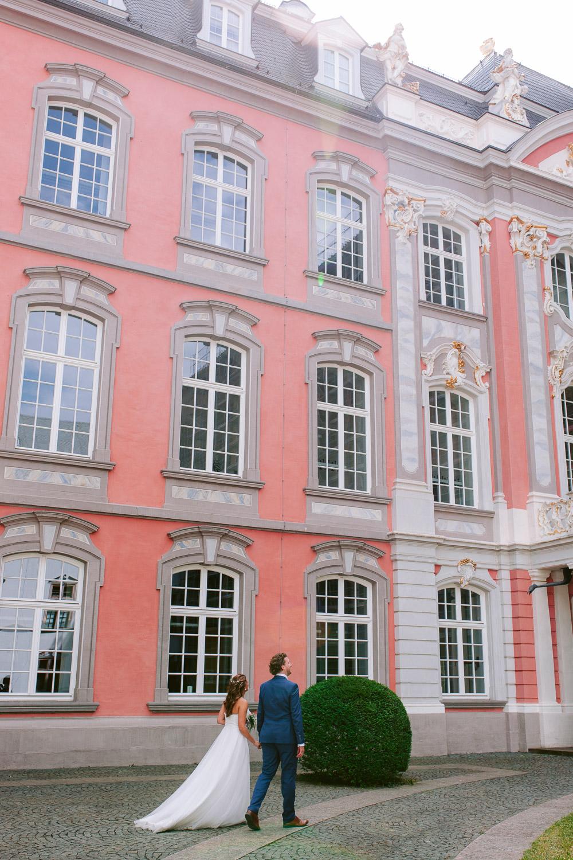 Hochzeit im Innenhof des Kurfürstlichen Palais in Trier
