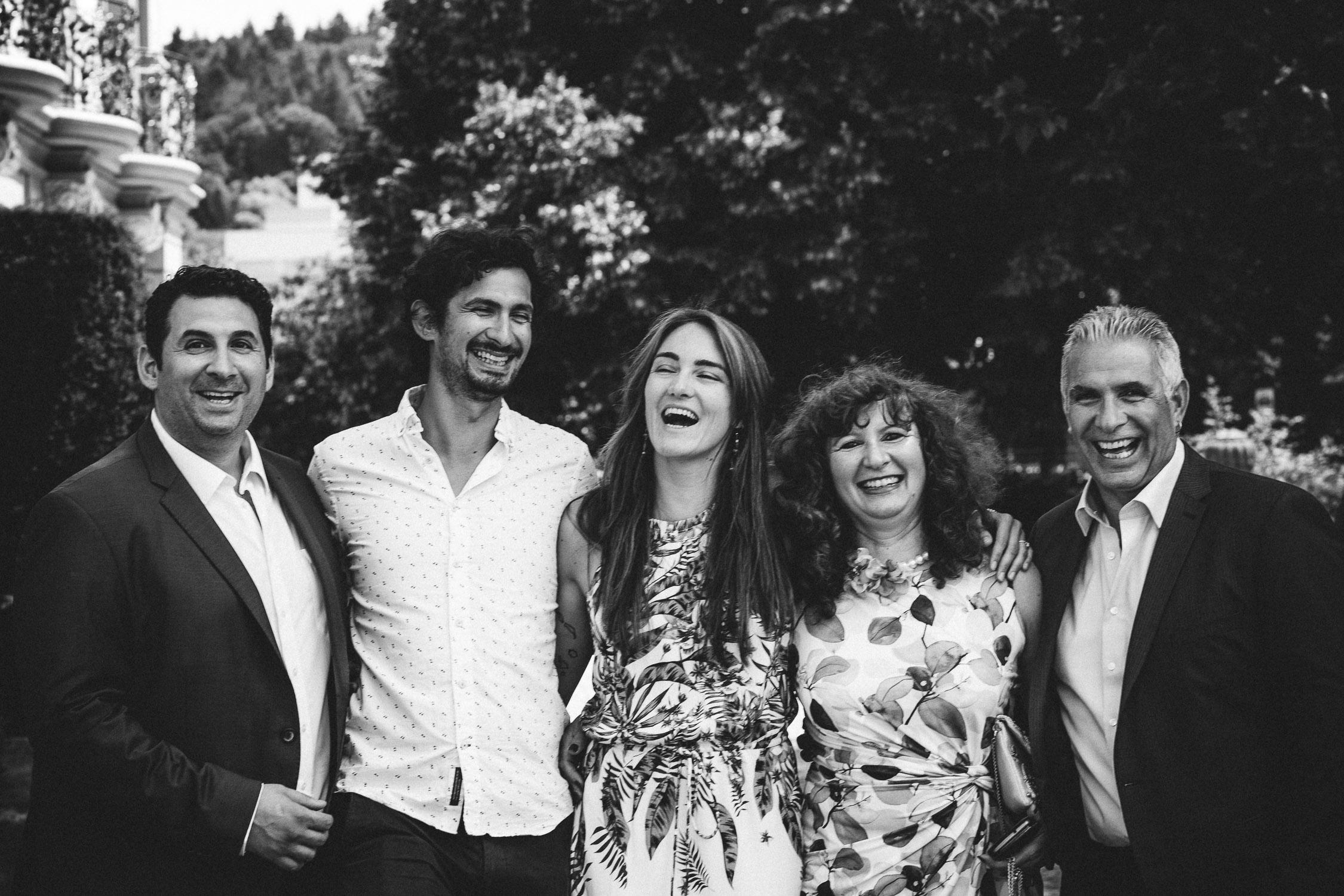 Familienfoto Palastgarten Trier
