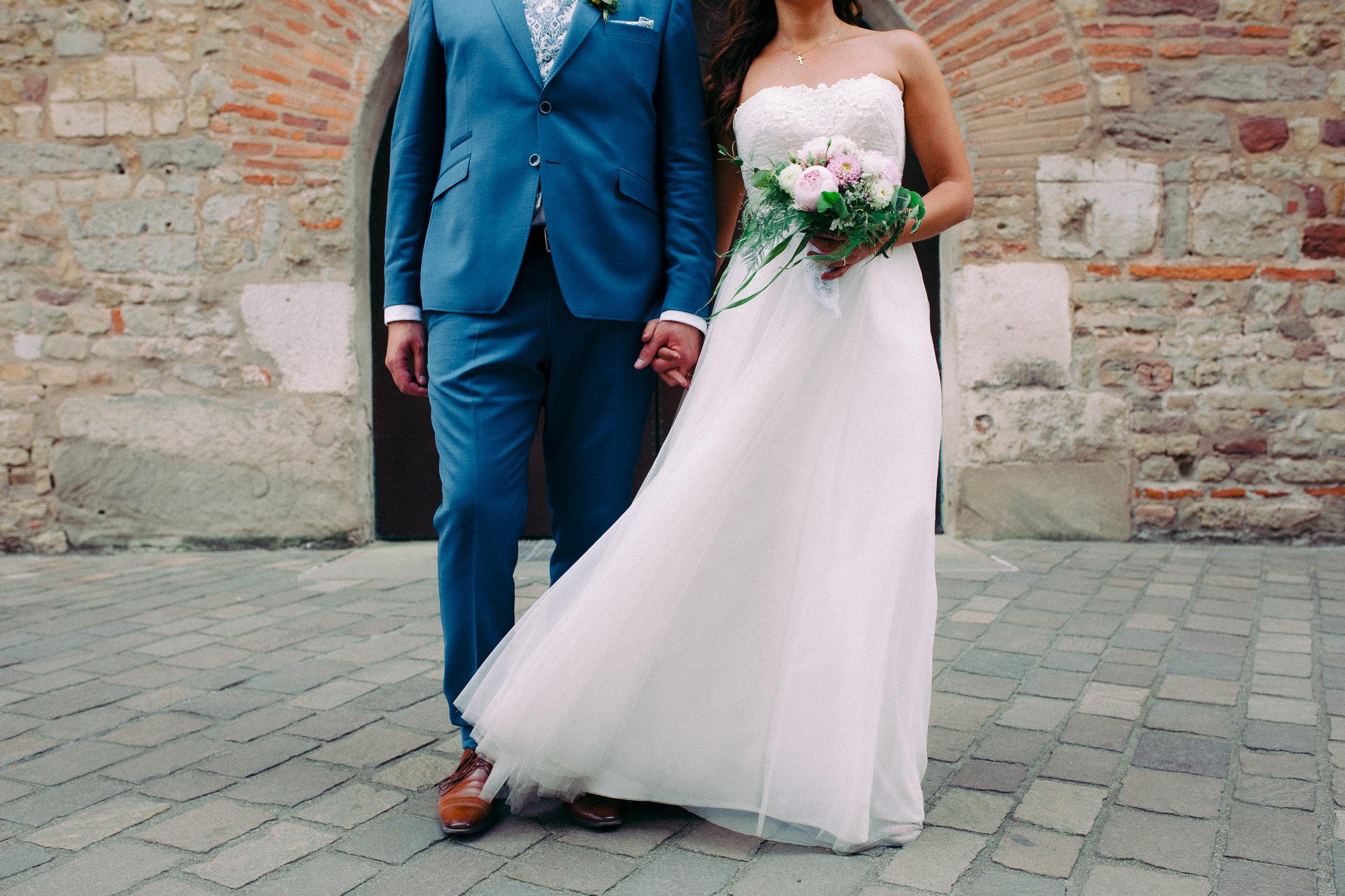 Brautpaarshooting in der Windstraße in Trier